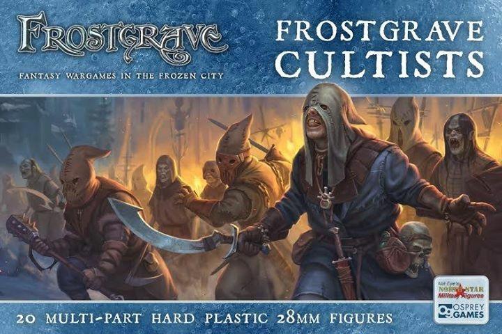 [Frostgrave] Idée pour cultistes Boxart