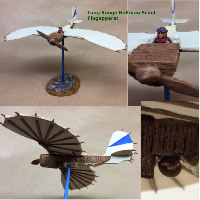Halfman Scout Flugapparat